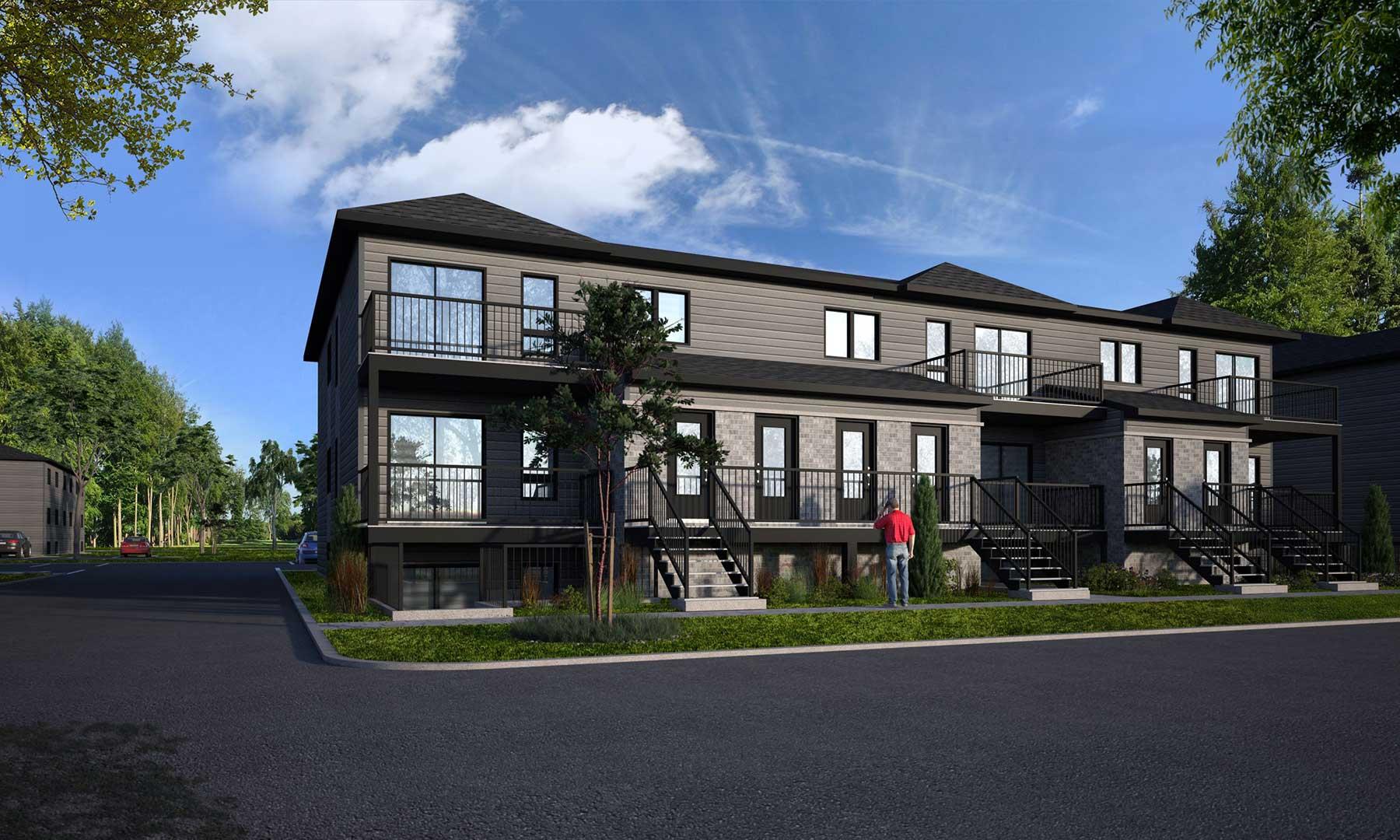 Appartements à louer - Projet Charles-Larocque à St-Louis-de-Gonzague
