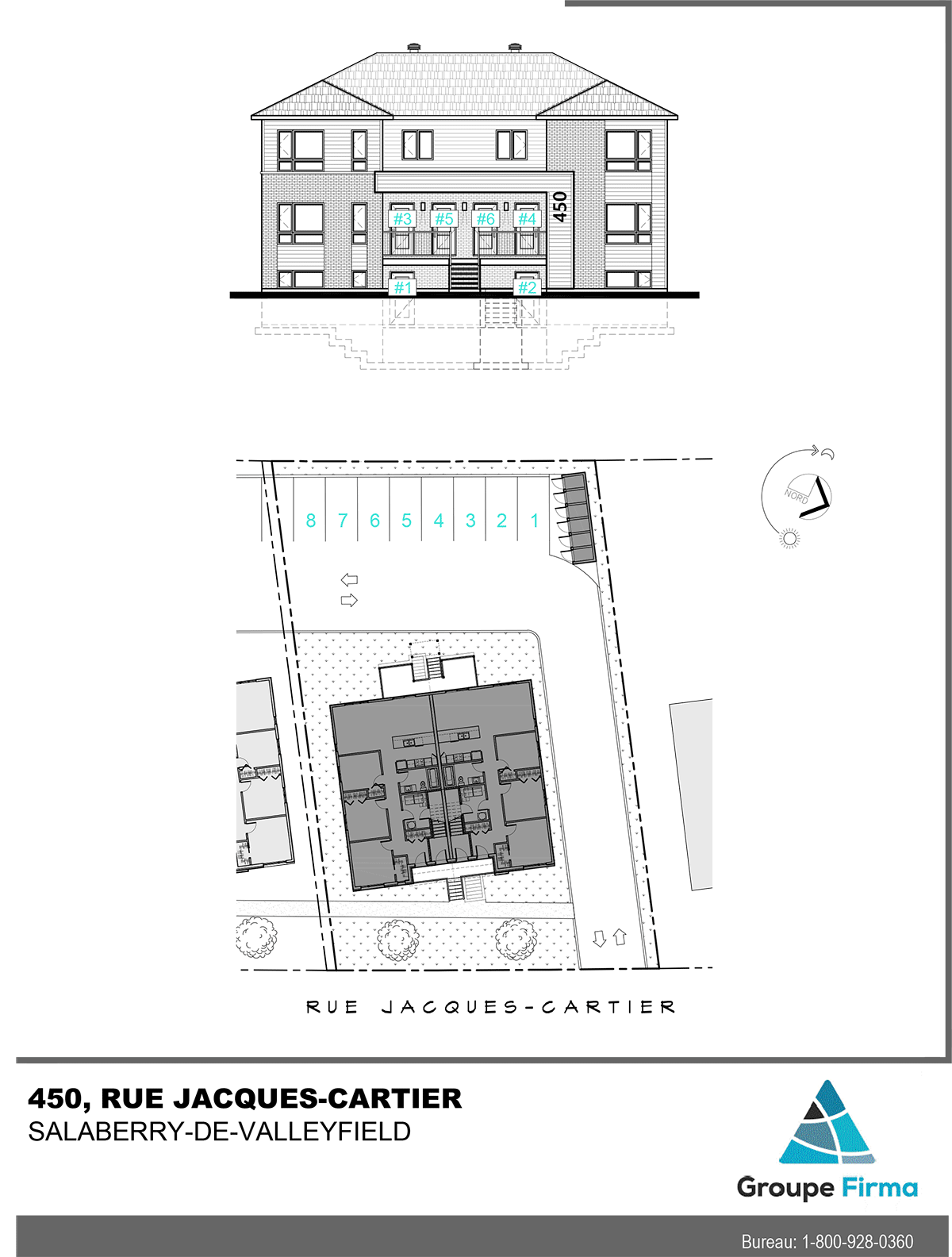 Appartements à louer - Projet Jacques-Cartier à Valleyfield