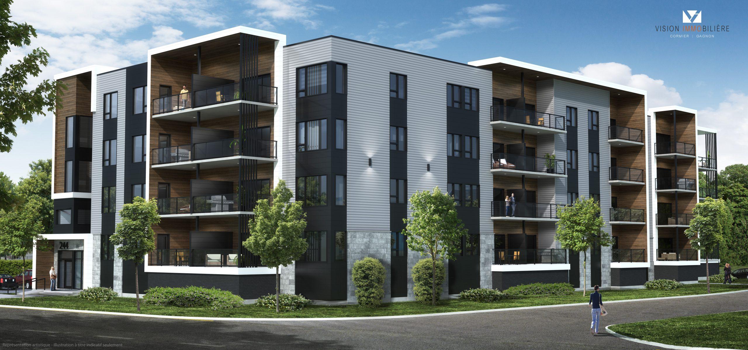 Le Saphyr - Appartements à louer à St-Zotique